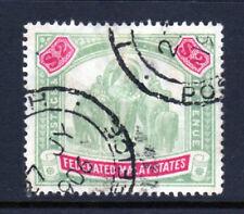 Malaya Federated States Scott 15 (SG# 24) Used $2 Elephant  Issue of 1900 |