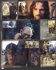 NZ 2003 Lord of the Rings/Horses/Fairies Maxicards (6) set ref:s5673