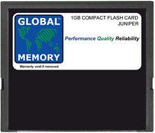 1 GB COMPACT FLASH CARD JUNIPER RE-5.0/RE-400/RE-850 motori del percorso (CF-UPG2-1G-S)