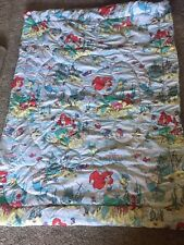 Vintage 1990s Disney Little Mermaid Twin Comforter bedspread NEW Cotton/ Poly