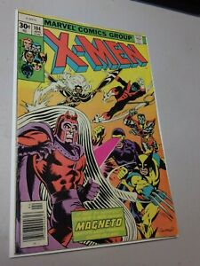 Uncanny X-men #104 Bronze age 1st Appearance of Corsair and Starjammers cameo
