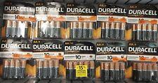 Duracell MN1500 Alkaline AA 1.5 V Coppertop Batteries 80 Pack Bulk Exp.2024 led
