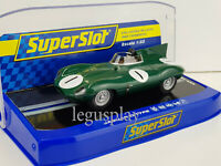 Slot Car Scalextric Superslot H3486 Jaguar D-Type Hawthorn / Titterington