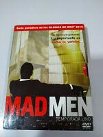 Mad Men Primera Temporada 1 Completa - 4 x DVD + Extras Español Ingles