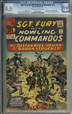 Sgt. Fury and his Howling Commandos #14 CGC 4.0