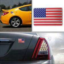 Car auto Door Fender American USA US flag emblem sticker metal badge decal decor