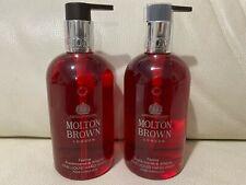 Molton Brown 2 x 300ml Frankincense & Allspice Fine Liquid Hand Wash BRAND NEW