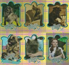 2006 THE WIZARD OF OZ MOVIE SERIES 1 TOTO FOIL INSERT CARD SET TD1 - TD6