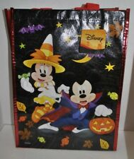 New listing Mickey Minnie Mouse Disney Halloween Trick Treat Boo Reusable Tote Bag Eco New