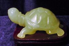 Genuine Serpentine Display Turtle, Hand-carved, Great Detail, Free Shipping