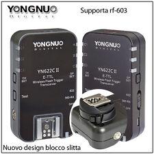 YONGNUO YN-622C II RADIOCOMANDO SPEEDLITE E-TTL CANON  REMOTE HIGH SPEED 1/8000