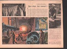 ALLEGORY WAR Arms MILITARY industry GREAT BRITAIN ENGLAND ILLUSTRATION 1939