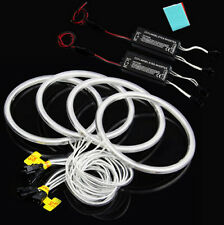 White LED CCFL Angel Eyes Halo Rings Fit For BMW E30 E32 E34 7000K