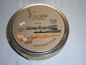 500 COUNT AIR ARMS FALCON DOMED ACCURACY PLUS .22 CALIBER PELLETS 13.43 grain