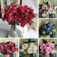 Künstliche Pfingstrose Blume Für Hochzeitsfest Dekor Fake Flowers Bouquet Braut