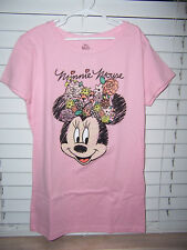 Disney Minnie Mouse Pink Shirt Girl's Size XL NWT
