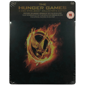 The Hunger Games Blu-Ray Steelbook - UK Release Limited Edition