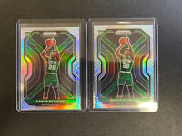 2 Card Lot: 2020-21 Panini Prizm #282 Silver Rookie Aaron Nesmith RC Celtics🔥