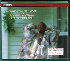 Jessye Norman: Richard Strauss canzoni Parsons CD 1986 standchen Kling la notte