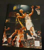 REGGIE MILLER SIGNED 8X10 PHOTO INDIANA PACERS SHOOTER HOFER NYK W/COA+PROOF