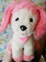 Vintage original poochie dog fluffy Plush Toy 1980s