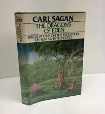 The Dragons Of Eden-Carl Sagan-SIGNED!-INSCRIBED!-First/1st Edition/8th Printing