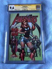 Avengers #8 (Aug 2017, Marvel) CGC SS 9.6 Cover C Mary Jane Variant Signed JSC