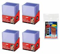 """100 ULTRA PRO 3"""" x 4"""" Standard Card Size TOP LOADERS + 100 SLEEVES COMBO PACK"""