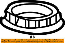FORD OEM Fuel System-Lock Ring 4L2Z9C385AA