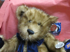 NEW 100TH ANNIVERSARY TEDDY ROOSEVELT BROWN AND BLUE COLLECTIBLE BEAR WORKS