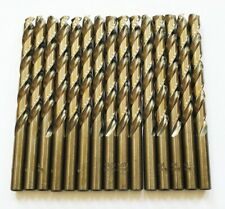 15 Craftsman 2164 Cobalt High Speed Steel Drill Bits Split Point Metal