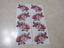 2 - MRS. GROSSMAN'S STUDIO STICKERS - ROSES - NEW!!