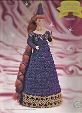 Rapunzel FAIRY TALE Collection Annies Attic Barbie Fashion Doll Crochet Pattern