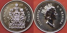 Specimen 2000 Canada 50 Cents From Mint's Set