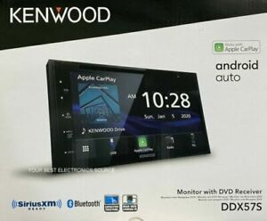 Kenwood DDX57S Apple Car Play/Android Auto Mechless DVD Bluetooth Digital Media