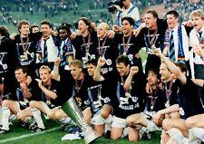 FC Schalke 04 - Pressefoto UEFA-Cup Finale 1997 - Inter Mailand - David Wagner
