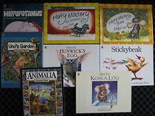 8 x PICTURE MINI BOOKS - MEM FOX GRAEME BASE HAIRY MACLARY HAZEL EDWARDS GARDEN