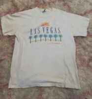 VTG Las Vegas Nevada Tourist Tee Shirt Single Stitch Hanes Beefy Size Large USA