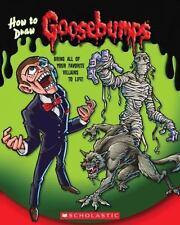 Goosebumps: How to Draw Goosebumps by Zalme, Ron, Scholastic, Good Book