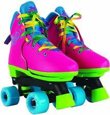 Jojo Siwa Classic Adjustable Indoor Outdoor Kids Girls Durable Roller Skates New