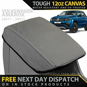 Volkswagen Amarok Canvas Armrest Console Lid Cover (In Stock)