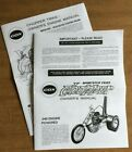 COX CHOPPER SPORTSTER TRIKE .049 OWNERS CAR INSTRUCTION AND 049 ENGINE MANUAL