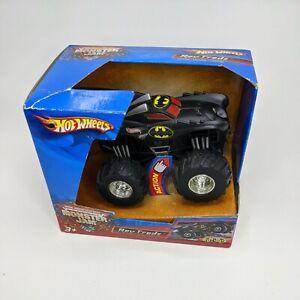 Hot Wheels Monster Jam Batman 1:43 Truck In Box 2005 SUPER RARE