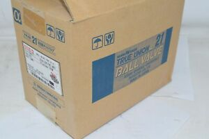 NEW Asahi Type 21 2'' Ball Valve Soc/THD ANSI PVC 50mm Combo V2ALVUES8050