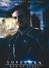 Michael Shannon signed General Zod  8x10 Photo - Man of Steel Superman V Batman