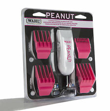 Wahl Professional Peanut Classic Clipper/Trimmer #8685-1701, Pink – Great for