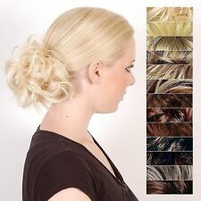 Haarteil hellblond dunkelblond Gesträhnthaargummi Haarauffüllung 161597