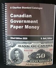 Charlton Canadian Government Paper Money - 32nd - 2020 Edition - FREE SHIPPING