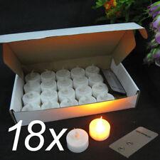 DHL LED Teelichter Kerze mit Fernbedienung Teelicht Elektrisch Kerzen Flammenlos