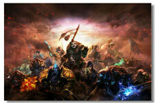 "World of Warcraft Game Online Silk Wall Poster Picture Decor 24""x36"" MOP062"